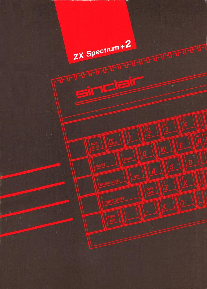 ZX Spectrum +2 Manual screen