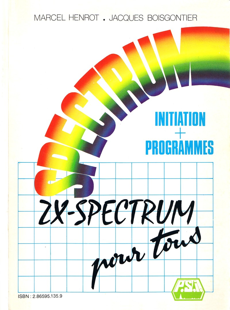 ZX Spectrum pour Tous: Initiation + Programmes image, screenshot or loading screen