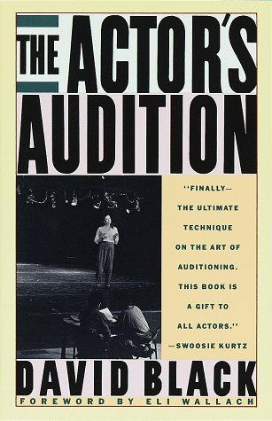 The actor's audition by Black, David