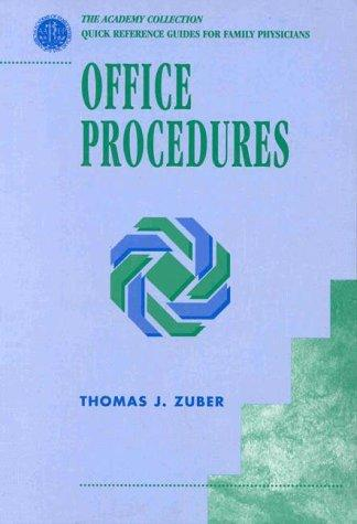 Office procedures by Thomas J. Zuber