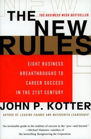 The New Rules by John P. Kotter