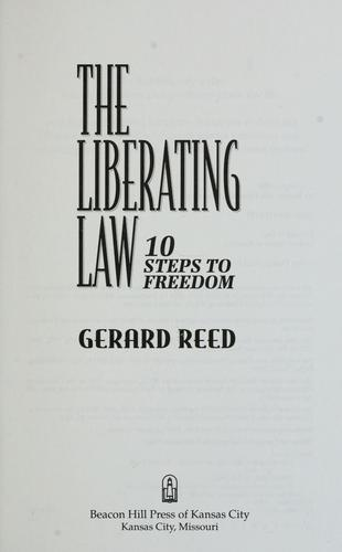 The liberating law by Gerard Reed
