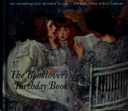 The Booklover's Birthday Book by Harry N. Abrams
