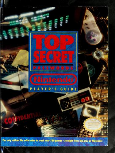 Top secret passwords by Gail Tilden