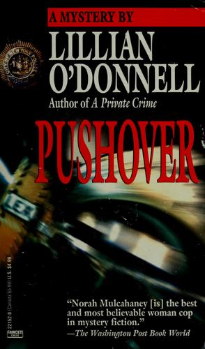 Pushover by Lillian O'Donnell