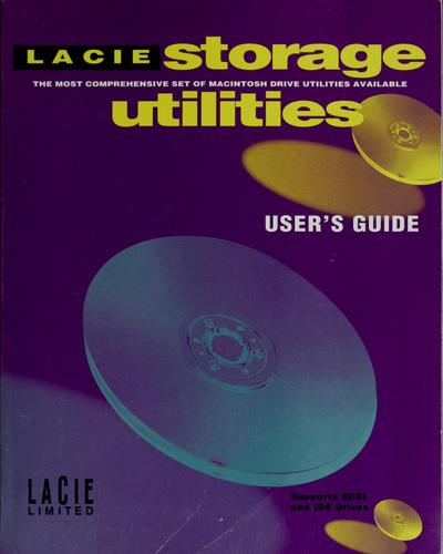 La Cie storage utilities by La Cie Limited
