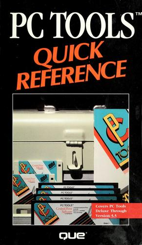 PC tools quick reference by George Sheldon