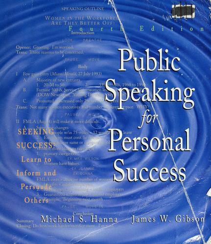 Public speaking for personal success