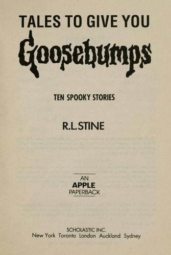 Ten spooky stories by R. L. Stine