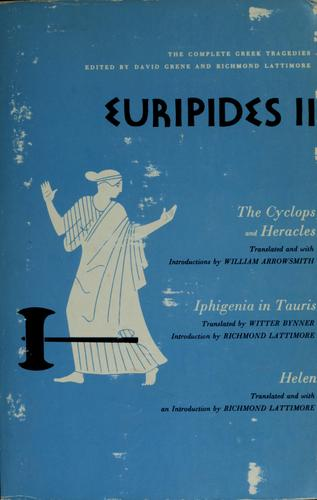 Euripides II by Euripides