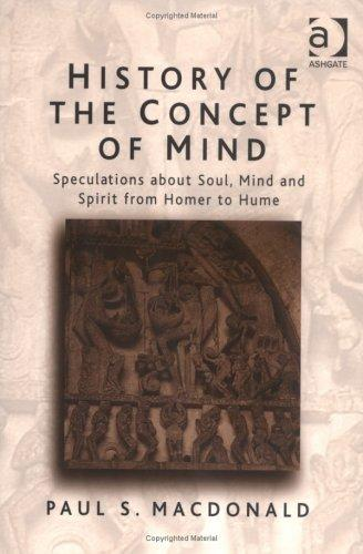 History of the Concept of Mind