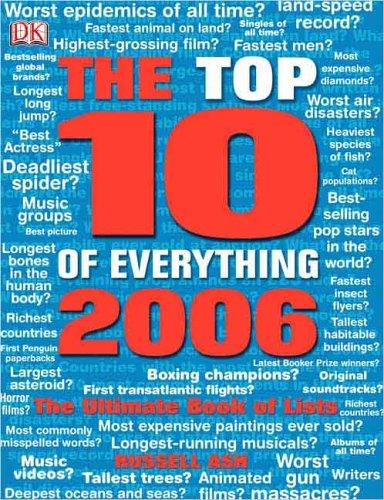 Top Ten of Everything 2006 (Top 10 of Everything) by Russell Ash