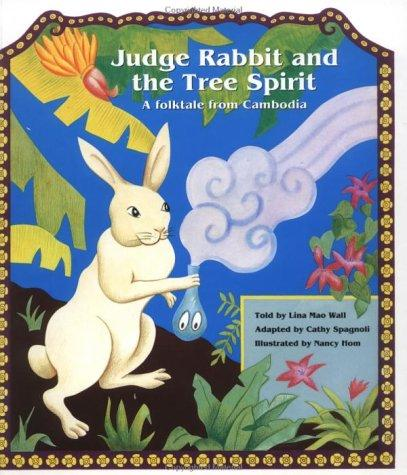 Judge Rabbit and the tree spirit by Cathy Spagnoli