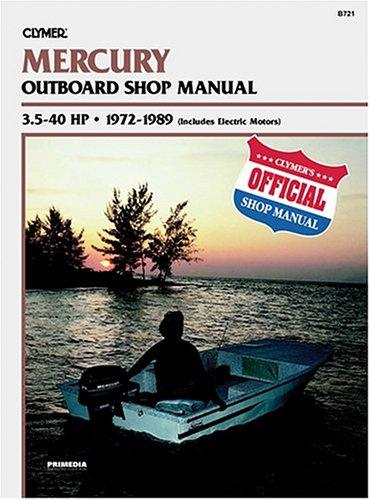 Mercury outboard shop manual, 3.5-40 hp by Randy Stephens