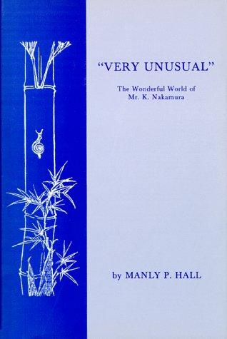 """Very unusual"" by Manly Palmer Hall"