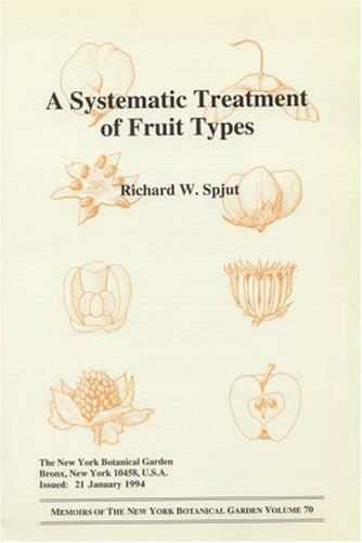 A systematic treatment of fruit types by Richard W. Spjut