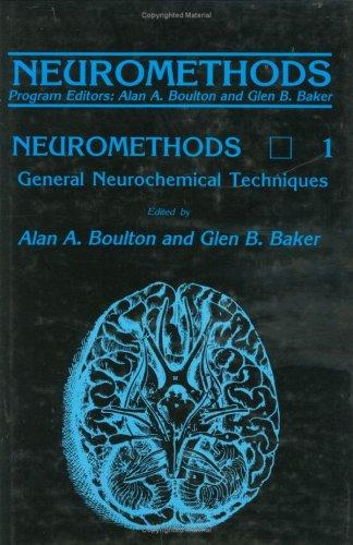 General neurochemical techniques by