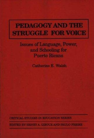 Pedagogy and the struggle for voice