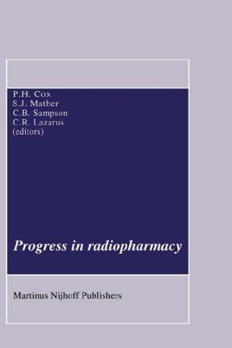 Progress in radiopharmacy by Peter H. Cox