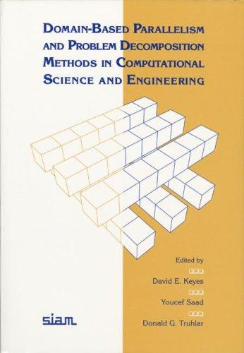 Image 0 of Domain-Based Parallelism and Problem Decomposition Methods in Computational Scie