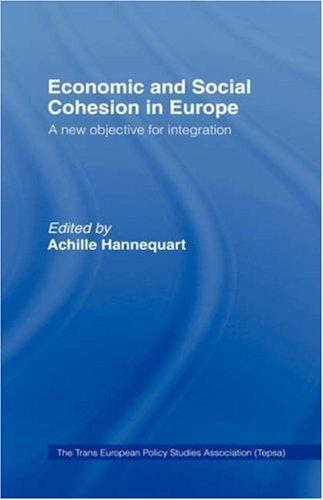 Economic and social cohesion in Europe by