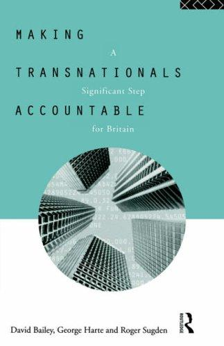 Making transnationals accountable by Bailey, David