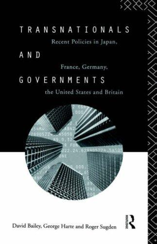 Transnationals and governments by Bailey, David