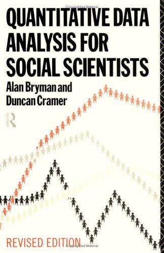 Quantitative data analysis for social scientists