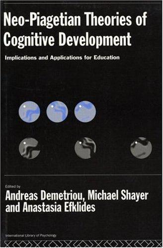 Neo-Piagetian theories of cognitive development by