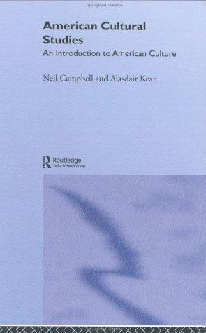 American cultural studies by Neil A. Campbell