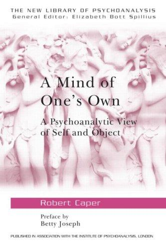 A mind of one's own by Robert Caper