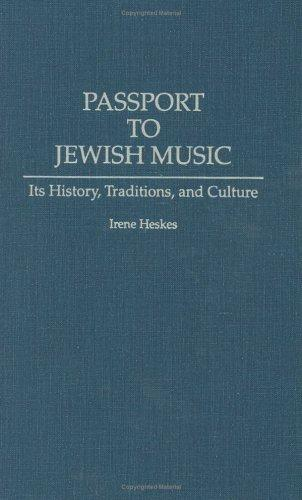 Passport to Jewish music by Irene Heskes