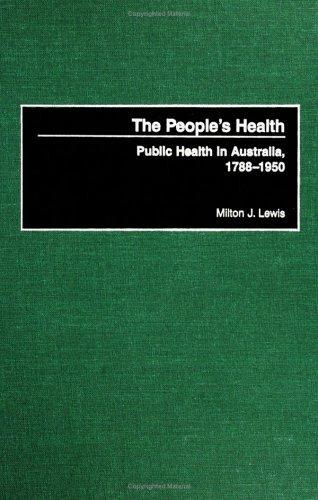The People's Health by Milton J. Lewis
