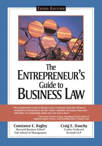 The entrepreneur's guide to business law by
