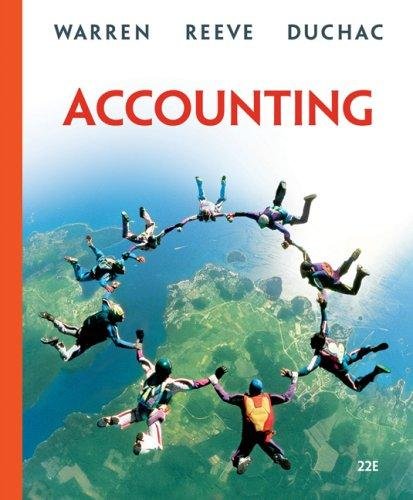 Accounting by James M. Reeve