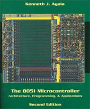 8051 MICROCONTROLLER ARCHITECTURE PROGRAMMING & APPLICATIONS