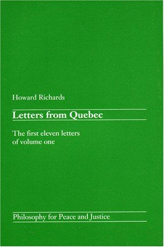Letters from Quebec