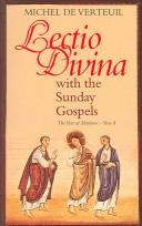 Lectio divina with the Sunday gospels by Michel de Verteuil