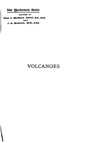 Volcanoes by T. G. Bonney