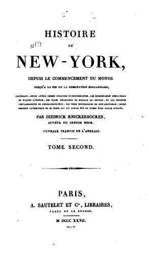 Histoire de New-York