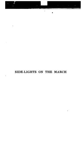 Side-lights on the march by Henry F. Mackern