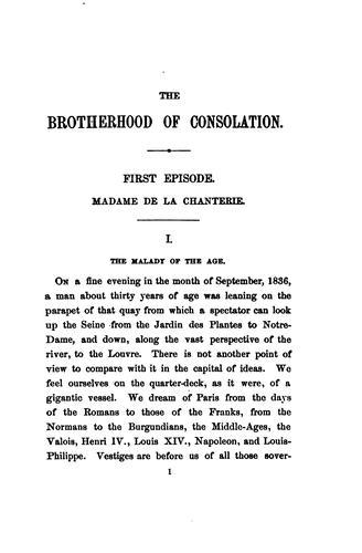The brotherhood of consolation.