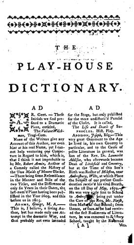 The companion to the play-house