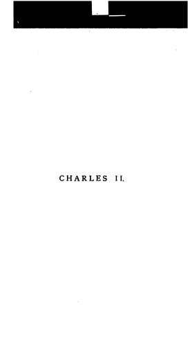 Charles II by Osmund Airy