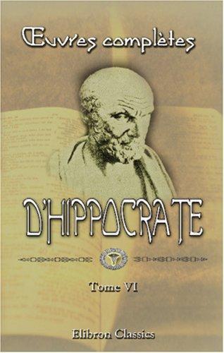 oeuvres complètes d\'Hippocrate