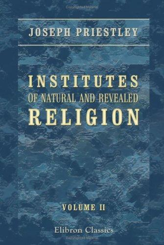 Institutes of Natural and Revealed Religion