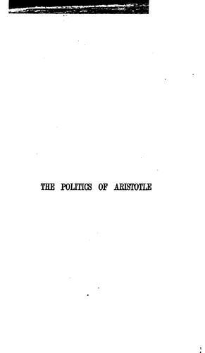Aristotelous Ta politika.