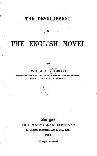 The development of the English novel