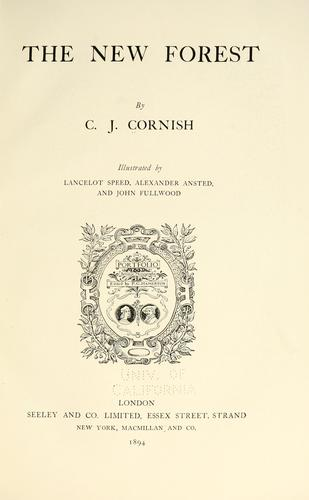The New Forest by C. J. Cornish