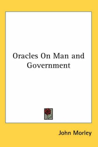 Oracles on Man And Government